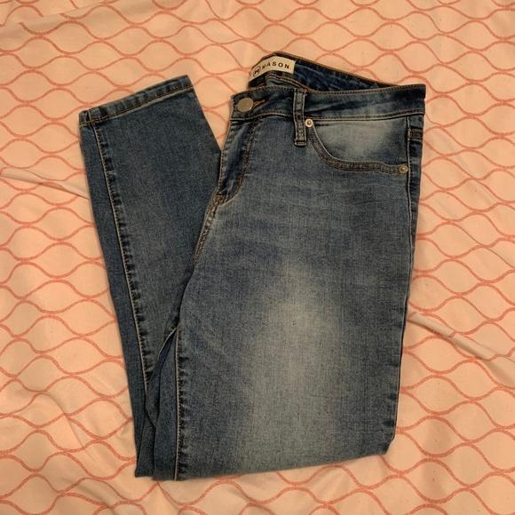 Ashley Mason Denim - Ashley Mason Juniors Skinny Ankle Jeans